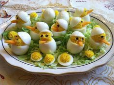 I have got to make these! Especially for Easter or a Baby Shower or something! Very cute!