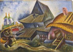 Issachar Ber Ryback 1897-1935 MON VILLAGE: PORTFOLIO Quantity: 15 signed I. Ryback (each sheet lower right) and numbered 18/250 (each sheet lower left) lithograph on paper 25 5/8 by 19 3/4 in. 65.1 by 50.2 cm.