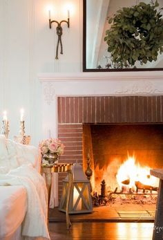 French Country Fridays- 7 tips for warming up your home for winter - French Country Cottage