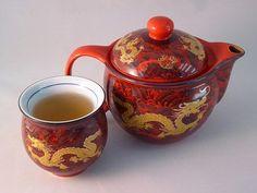 Herbata, Puchar, Garnek