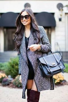 #Tweed #Coat