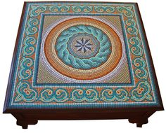 patterns for mosaic tables | The Great Mosaic Coffee Table by ~birsenmahmutoglu on deviantART