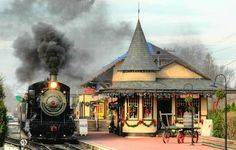New Hope/Ivyland Railroad Station, Bucks County,Pa.