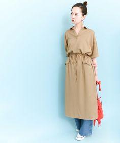 KBF スキッパードロストワンピース(ワンピース)|KBF(ケイビーエフ)のファッション通販 - ZOZOTOWN