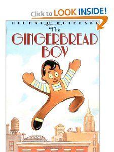 The Gingerbread Boy Richard Egielski 9780064437080 Amazon Books