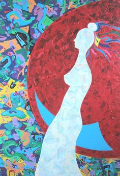 For Sale on - Costana Swaying on the Moon. Innocence of Desire, Painting, Acrylic on Canvas, Acrylic Paint by Edi Apostu. Offered by Zatista. Canvas Signs, Paintings I Love, All Art, Art For Sale, Erotic, Original Art, Abstract, Moon, Artwork
