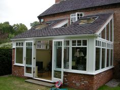 Orangery and Conservatory extensions, bespoke joinery plus diy Orangery kits in Stunning Designs Lean To Conservatory, Conservatory Extension, Cottage Extension, House Extension Design, House Design, Bungalow Extensions, Garden Room Extensions, House Extensions, Dormer Roof