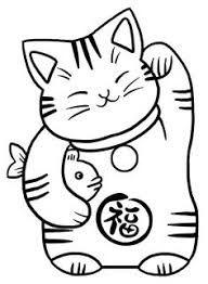 Image Result For Good Luck Cat Vector Maneki Neko Hudozhestva