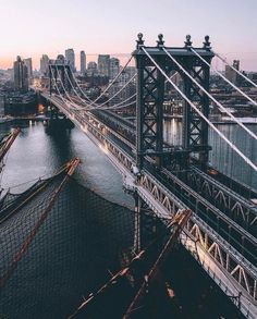 nyc - travel | new york city - bridge - skyline - the big apple - new york - america - united states - usa - holiday - trip - wanderlust - explore - roam - adventure - bucket list - discover places - vacation - idea - ideas - inspiration - roaming - urban photography - bridges