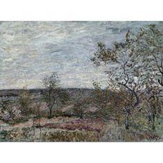 Sisleyalfred (1839-1899) Canvas Art - (24 x 18)