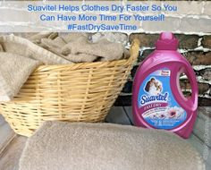 "Suavitel is The Best Fabric Softener! And, it Saves Me Time so I can have more ""me"" time! #FastDrySaveTime #CollectiveBias #shop - Blog By Donna"
