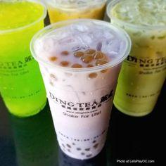 New Ding Tea Opens in Huntington Beach!