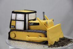 CAT Bull dozer cake, via Flickr.