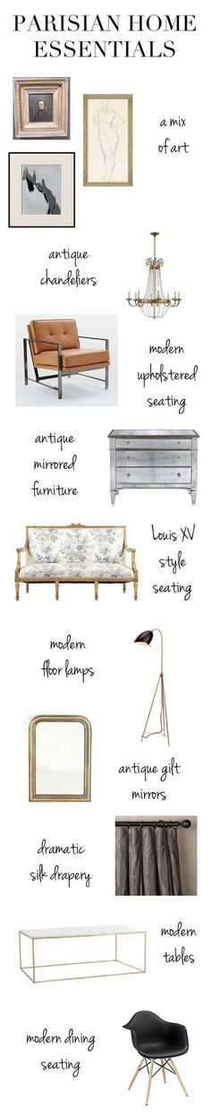 Parisian Style at Home & On You! (via Bloglovin.com )
