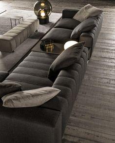 SOFAS IDEAS   From the New 2106 collection the awasome Freeman seating system    bocadolobo.com/  #modernsofa #sofaideas
