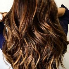Honey Brunette Balayage