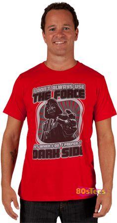 Prefer The Dark Side Shirt