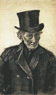 Vincent van Gogh drawing