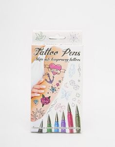 Temporary tattoo pens that are the dream of anyone who doodled on themselves in…