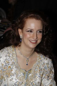 Princess Lalla Salma of Morocco, is the princess consort of King Mohammed VI of Morocco and the first wife of a Moroccan ruler to have been publicly acknowledged and given a royal title
