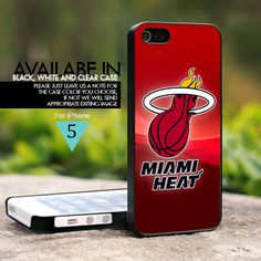 Miami Heat Logo - For iPhone 5 Case, Hard Cover