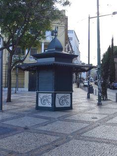 Quiosques antigos de Lisboa - SkyscraperCity Quiosque de Santos