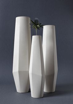 >><<Marchigüe Concrete Vases by the Milan based architect and designer, Stefano Pugliese
