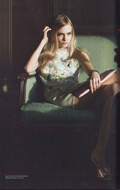 Cara Delevingne - Editorial shoot