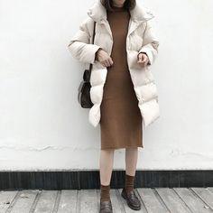 Down Jacket Women Winter 2020 Outerwear Coats Female Long Casual Warm – Celiati