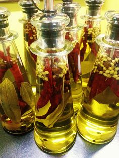 Wow is an understatement! This oil is infused with allspice, bay leaves, coriander, chili peppers and spices and is perfect for use with spice rubs and pan searing meats for a delicious burst of bold