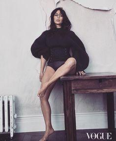 Kim Kardashian Vogue Australia Yeezy Season 3