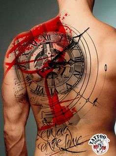 Design-Collage Wannado Uhr Zeit Clock Watch Tattoo Motive von Micha Tattoo Insel Clock Tattoo Design, Music Tattoo Designs, Tattoo Sleeve Designs, Sleeve Tattoos, Forarm Tattoos, Forearm Tattoo Men, Body Art Tattoos, Tatoos, Hand Tattoos For Guys