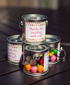 Polka Dot & Rainbow Paint Themed Birthday Party - Hostess with the Mostess®