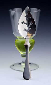 Very affordable absinthe spoon and glass set, only $12.95