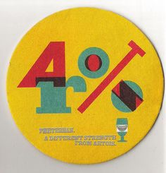 Peeterman promo beer mat by sodavekt, via Flickr