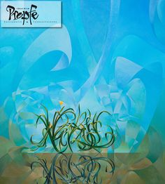"""Narziss und Echo"", Acryl auf Leinwand, 130 x 145 cm, Preis auf Anfrage"