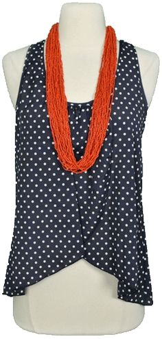 necklace and top