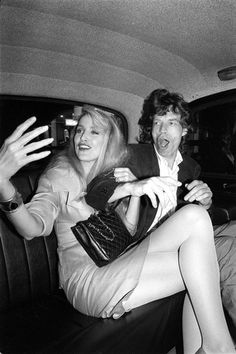 Mick Jagger and Jerry Hall, London, 1987; Richard Young