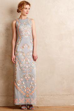 Royal Garden Maxi Dress