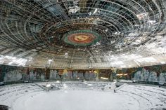 24 Mysterious and Haunting Abandoned Buildings from The Soviet Union