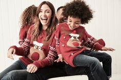 Reindeer Snowflake Jumper Girls Christmas Jumpers, Xmas Jumpers, Knitted Christmas Jumpers, Christmas Knitting, Christmas Sweaters, We Fall In Love, Fashion Story, Girls Shopping, Latest Fashion For Women