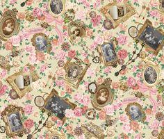 Baby The Stars Shine Bright :: Fragrant Rose Memories Lolita Print