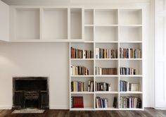 Built In Bookcase Photos of - Lonny Bookshelves Built In, Bookcases, Contemporary, Modern, Shelving, Small Spaces, Organization, Harvard, Building