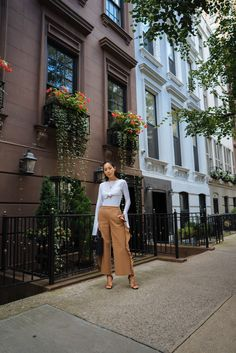 MSGM Ruffle Pants & Line by K Top | Song of Style