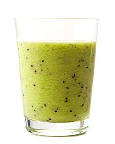 Kiwi Smoothie  4 ripe kiwi, peeled and halved  1/2 cup freshly squeezed orange juice  1 tablespoon agave nectar   1 cup ice    Combine all ingredients in a blender, and blend until smooth