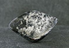 Native Silver Cabochon, Rare Metallic Gemstone Cabochon, Mirror Finish Collector Stone, Designer Jewlery Focal Stone, Canada Native Silver by StonyMountainGems on Etsy