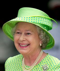 It has been several long months since we completed our last royal hat inventory. When we left off, I promised a look at all of the green hats in Queen Elizabeth's millinery closet, a promise … Die Queen, Hm The Queen, Royal Queen, Her Majesty The Queen, Save The Queen, Commonwealth, Windsor, Queen And Prince Phillip, Prince Philip