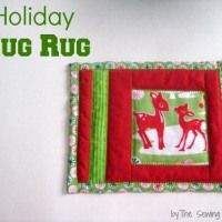 Make a Holiday Mug Rug - Seasonal Sewing Series - So Sew Easy