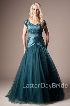 Bridesmaid & Prom, Tawny | LatterDayBride & Prom -Modest Mormon LDS Prom Dress