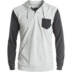 Quiksilver Men's Guitar Magic Hoodie ($44) ❤ liked on Polyvore featuring men's fashion, men's clothing, men's hoodies, dark, mens hoodies, men's color block hoodie, mens hooded sweatshirts, mens sweatshirts and hoodies and mens hoodie